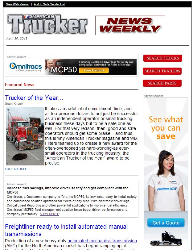newsweekly screenshot