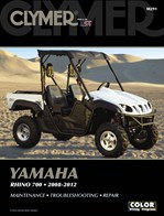 M291 Clymer Manuals Yamaha Rhino 700 Manual