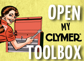 Clymer Manuals Clymer Girl My Clymer Tool box