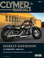 M427 Clymer Manuals Harley Davidson XL Sportster Motorcycle Service Repair Shop Manual  