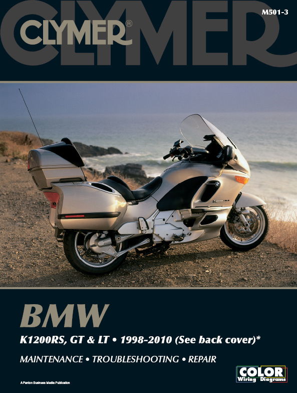 M501 Clymer Manuals BMW K1200RS K1200GT K1200LT