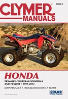 M454 Clymer Manuals Honda TRX400EX Fourtrax Sportrax Manual