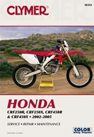 M352 Clymer Manuals Honda CRF250R CRF250X CRF450R CRF450X Manual