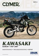 M474 Clymer Manuals Kawasaki KLR650 Manual
