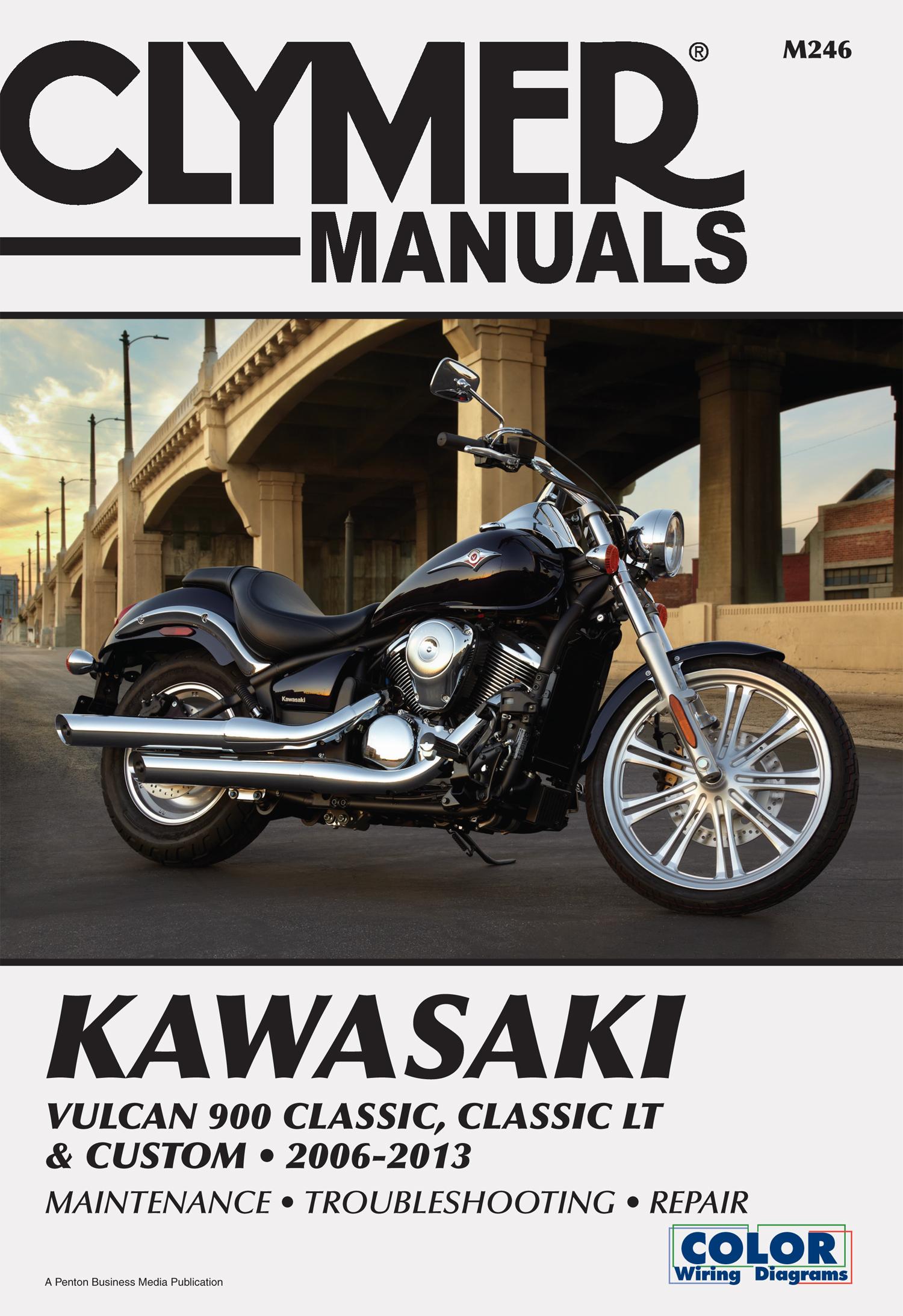 M246 Clymer Manuals Kawasaki Vulcan 900 Manual