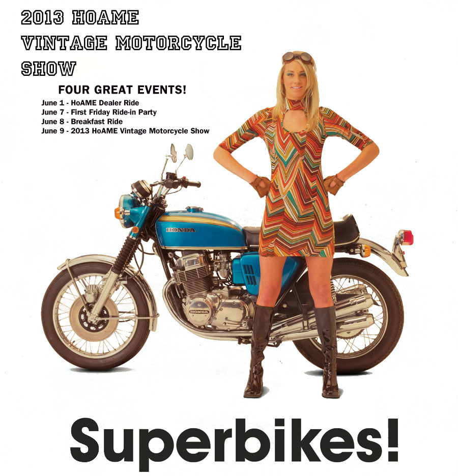 Clymer Manuals Sponsors 2013 Vintage Motorcycle Show