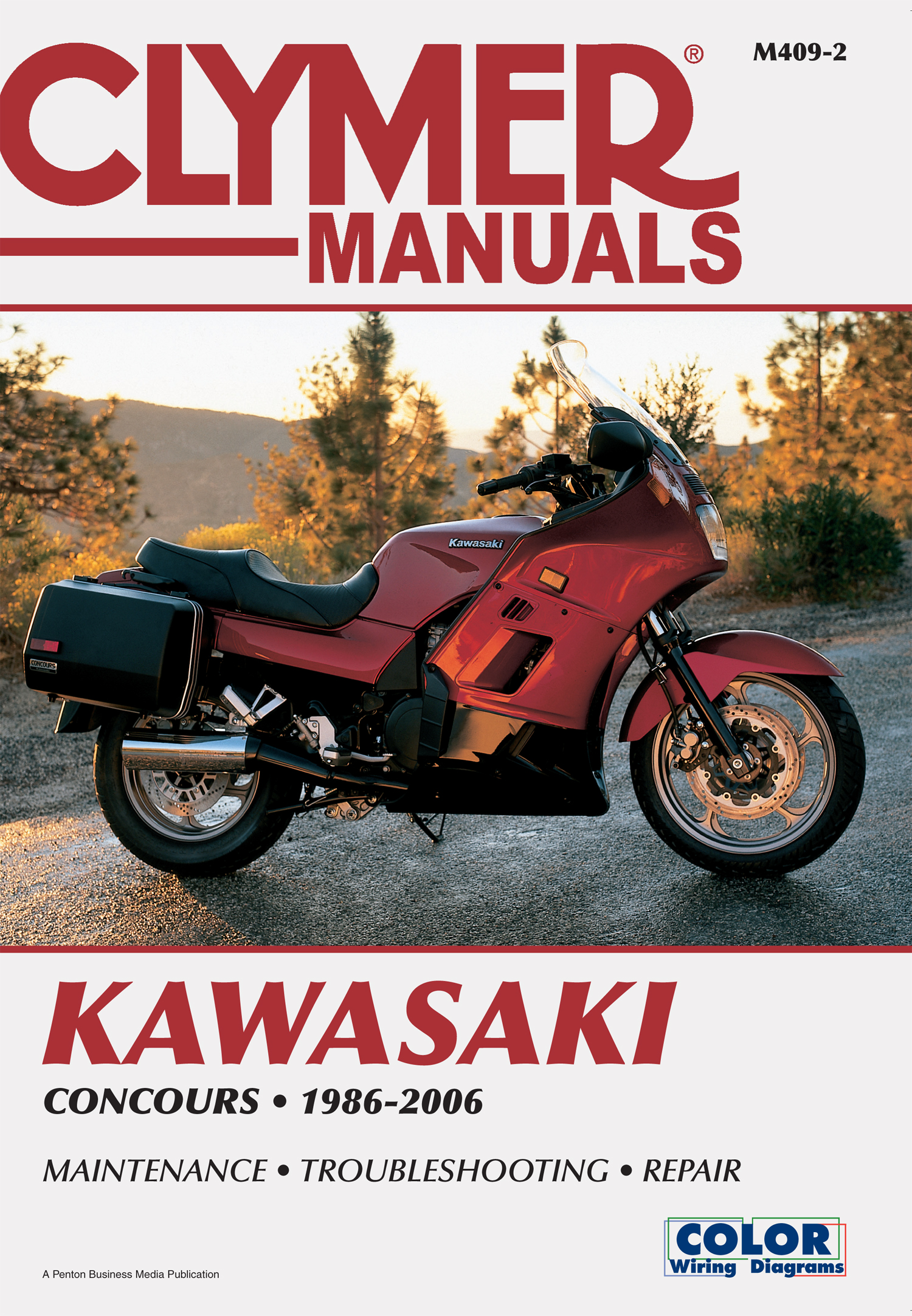 M409 Clymer Manuals Kawasaki Concours Motorcycle Manual