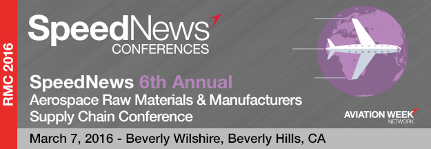 6th Annual Aerospace Raw Materials & Manufacturers Supply Chain Conference
