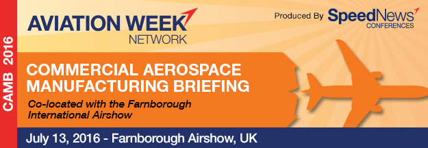 2016 Commercial Aerospace Manufacturing Briefing