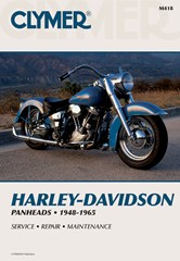 Harley-Davidson Panhead Motorcycle Manual