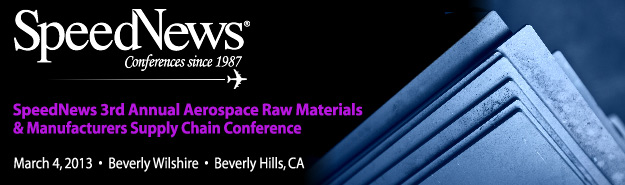 3rd Annual Aerospace Raw Materials & Manufacturers Supply Chain Conference
