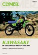 Kawasaki Motorcycle Rotary Valve Engine Dirtbike