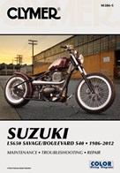 M384 Clymer Manuals Suzuki LS650 Savage Boulevard S40 Motorcycle Manual 