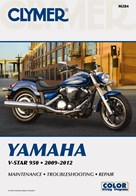 M284 Clymer Manuals Yamaha V-Star 950 Motorcycle Manual 