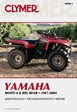 Yamaha YFM350 YFM350FW YFM400 YFM400FW Moto-4 Big Bear