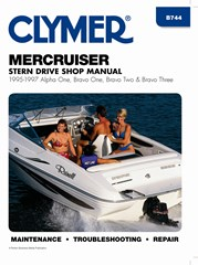 MerCruiser Stern Drive Alpha One Bravo One Two Three Magnum