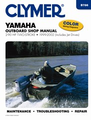 Yamaha Two-Stroke Outboard including Jet Drive