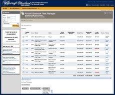 Aircraft Bluebook Fleet Manager